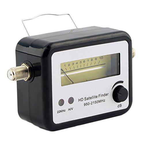 YTYC Digital Satellite Signal Finder Meter Compass FTA TV Signal Receiver Finder