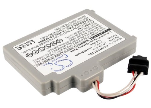 1500mAh Battery For Ninetendo Wii U, Wii U GamePad, WUP-010 [Electronics] CS-OT997SL