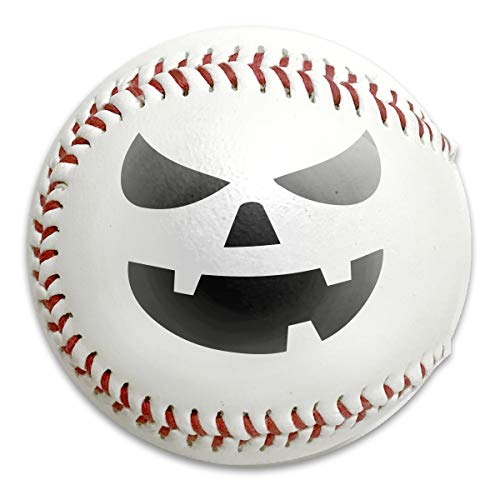 (LbhMuryobao League Recreational Play Baseball Jack O' Lantern Pumpkin Youth T Shirt)