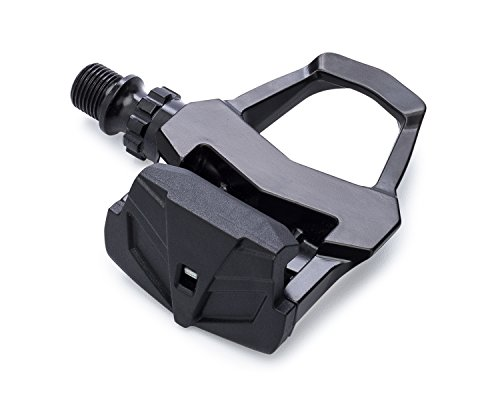 Clipless Road Bicycle Pedals (Watt 1.0 Clipless Road Bike Pedals by BC Bicycle Company – Includes SPD-SL Compatible Cleats)