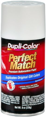 Dupli-Color EBGM04347 Olympic White General Motors Exact-Match Automotive Paint - 8 oz. (White Motor)