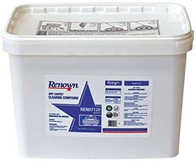 RENOWN GIDDS2-303424 Dry Carpet Cleaning Compound Bucket, 20 lb