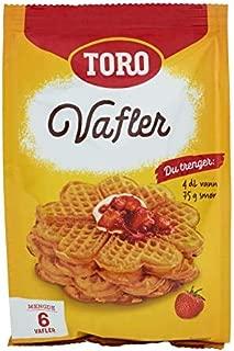 product image for Toro Vafler - Norwegian Waffle Mix (9 ounces) 1 pack