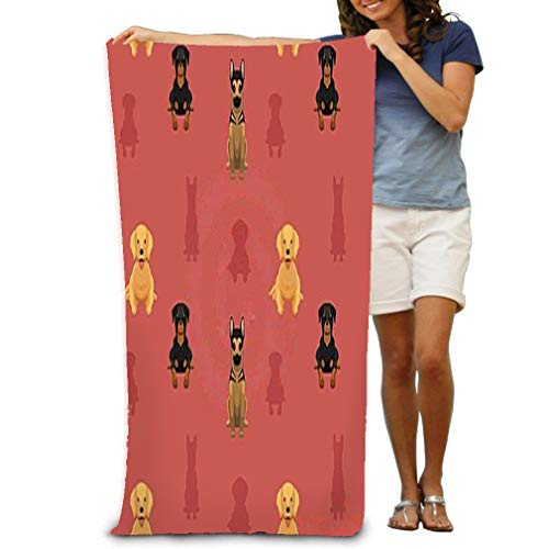(zexuandiy Super Absorbent Beach Towel Sea Surface Yoga Polyester Velvet Beach Towels 31