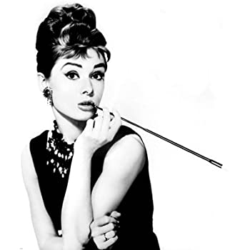 audrey hepburn breakfast at tiffany 39 s black and white movie mini poster print 16. Black Bedroom Furniture Sets. Home Design Ideas