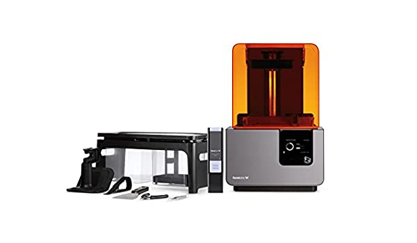 Formlabs Form 2 3D SLA PRINTER + Free Cartridge Of Clear Resin ...