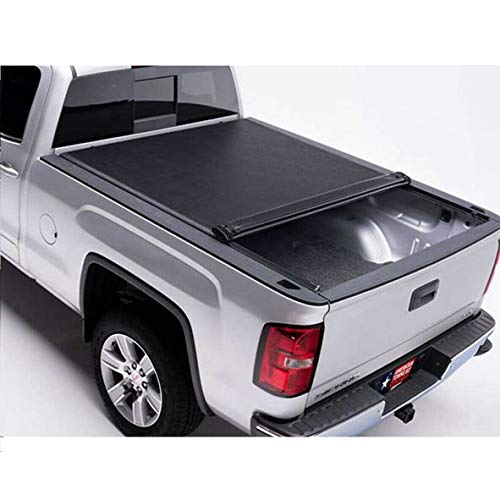 HODIAX Soft Roll Up Tonneau Cover   Fits 2005-2019 Nissan Frontier 6' Bed best to buy