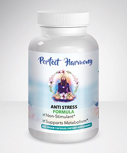 41qQH4 mo3L - PERFECT HARMONY ~ Stress Relief Formula for Women. Anti Anxiety and Panic Aid