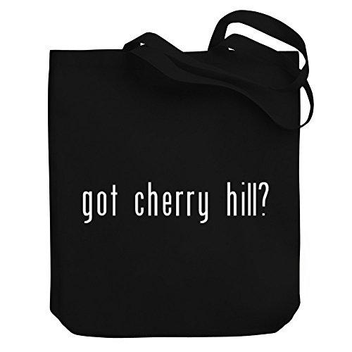 Teeburon Got Cherry Hill? Canvas Tote - Cherry Hill Shopping