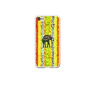 Protective Phone Cover Designed Vintage Elephant Design Custom Case for Iphone 5c
