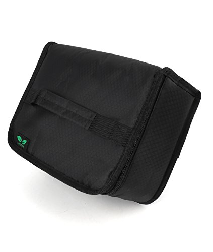 Insulated Lunch Box Bag for Adult Small 5mm padding Bento Bag for Picnic Trip (Black N9) by F40C4TMP ()