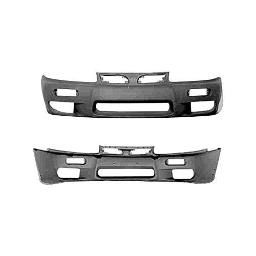 Primed Front Bumper Cover for 1997-1998 Mitsubishi Galant ()