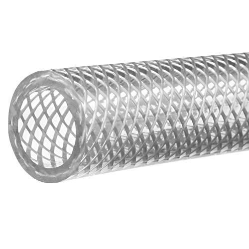 USA Sealing Reinforced High Pressure Clear PVC Tubing - 1/2