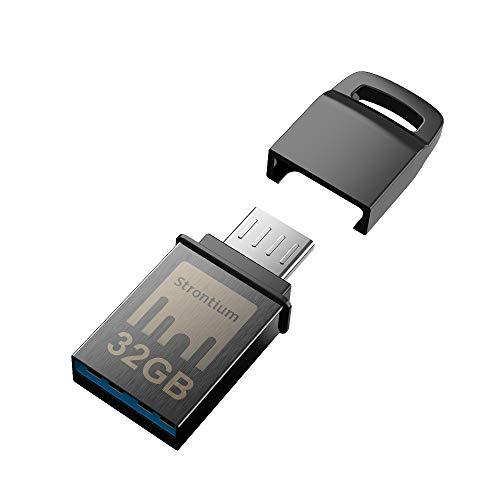 Strontium Nitro 32Gb One OTG 3.1 150 MBPS (Dark Grey)