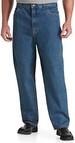 Harbor Bay Big & Tall Loose-Fit Denim Jeans