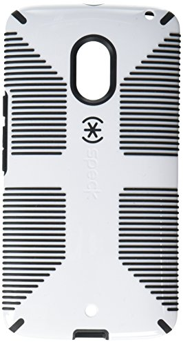 Speck Products73454-1909 CandyShell Grip Case for Motorola Droid Maxx 2, White/Black