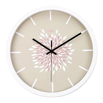 Ling @ los Restos y moderno creativo IKEA Salón Dormitorio Relojes de pastoralen pared Reloj Mute