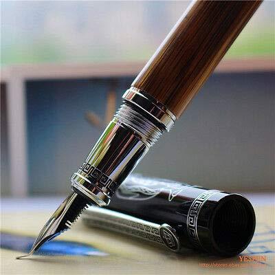 FidgetKute Duke Calligraphy Pen King Crown Confucius Commemorative Pens Bamboo Engraved NWT by FidgetKute (Image #2)