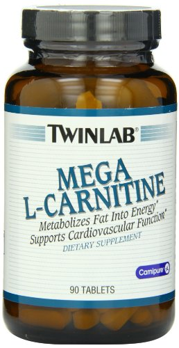 Twinlab Mega L Carnitine 500mg, 90 Tablets