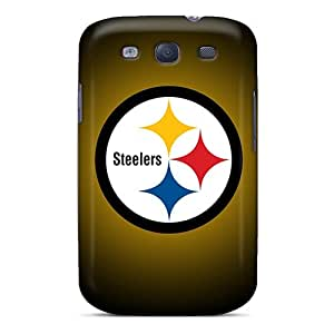 Perfect Fit Ste11411nseT Pittsburgh Steelers Cases For Galaxy - S3