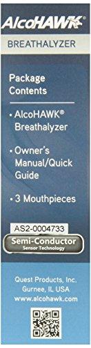 AlcoHAWK Elite Slim Digital Breathalyzer by AlcoHawk (Image #8)