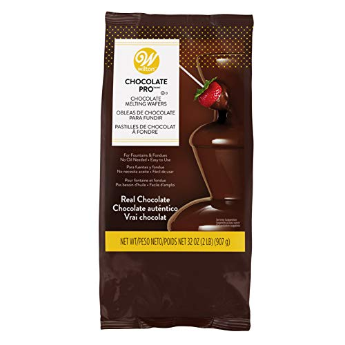 Wilton Chocolate Pro Fountain Fondue Chocolate - Chocolate For Fountain (Best Way To Dip Chocolate)