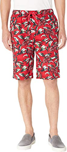 - Tommy Bahama Men's Island Washed Cotton Woven Jam Shorts Big Leaves Red X-Large