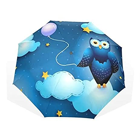 Original Cute Owl Umbrella Sun Rain Women Cartoon Animal Parasol Lady Plegable Sombrilla Paraguas