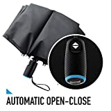 Tadge Goods Windproof Travel Umbrella with