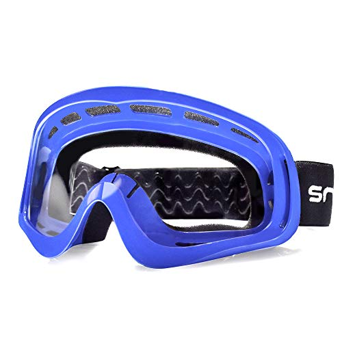 HUBO SPORTS MX Goggles, Dirt Bike Goggles Motocross Goggles for Adults with Windproof & Dustproof and UV Protection