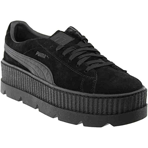PUMA Select Men's x Fenty by Rihanna Cleated Creeper Suede Sneakers, Black, 11 D(M) US