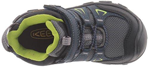 Keen Oakridge Mid Wp, Zapatos de High Rise Senderismo Unisex Niños Azul (Midnight NAVY/MACAW)