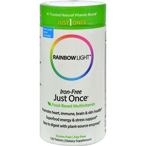 Once Iron Free 120 Tab - Rainbow Light Just Once Iron Free