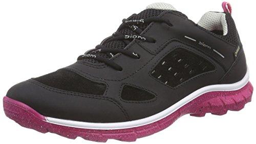 EccoECCO BIOM TRAIL KIDS - Zapatillas Niños Negro (BLACK/BLACK/BEETROOT59460)