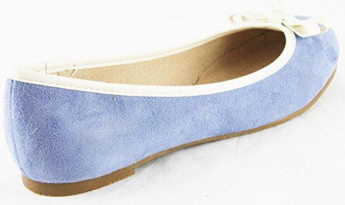 Ballerines Andrea Conti femme bleu pour bleu HHAqw5nr