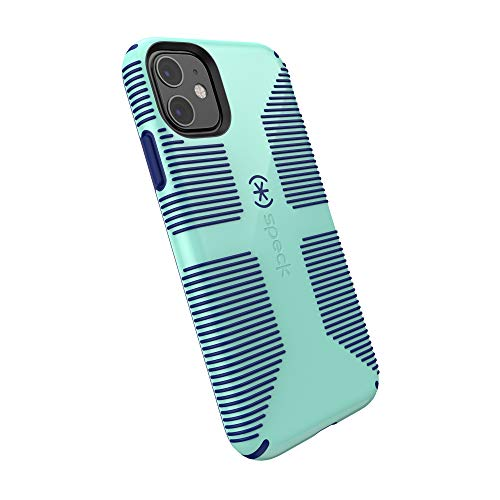 Speck CandyShell Grip iPhone 11 Case, Cool Blue/Cadet Blue