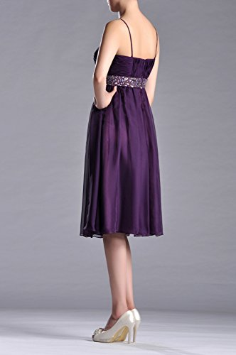 Women's Adorona Length a Line Tea Dresses Chiffon Sunbeam rz6dqwAr