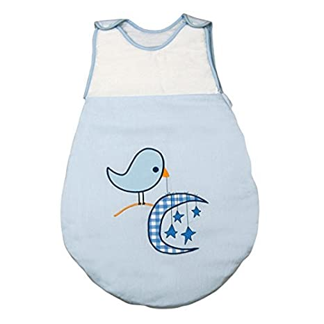 Saco de Dormir de Bebé modelo Pajarito de Petit Chat (talla 0-6 meses