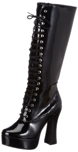 Pleaser Electra Womens Shoes - Pleaser Women's Electra-2020,Black Patent,13 M