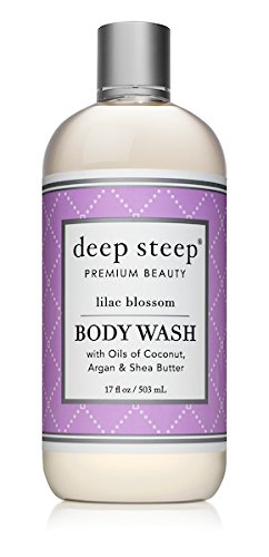 Deep Steep Argan Oil Body Wash, Lilac Blossom, 17 Ounce