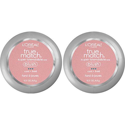 L'Oreal Paris Cosmetics True Match Super-Blendable Blush, Tender Rose, 2 Count by L'Oreal Paris