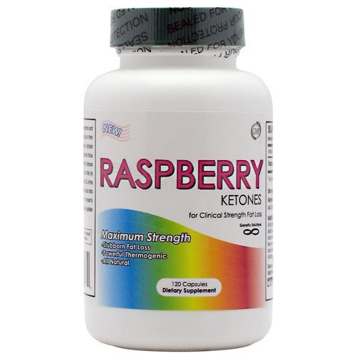 Raspberry Ketones- #1 Natural Weight Loss Supplement - 120 Capsules, 250 Mg, ... by Genetic Solutions