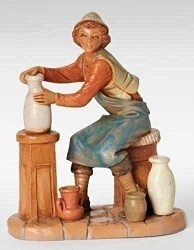 "Fontanini 7.5"" Andrew the Potter Nativity Village Figure #52823"