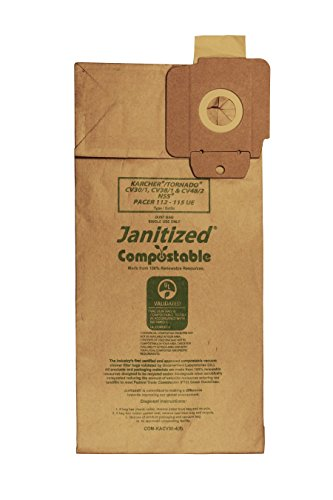 Janitized COM-KACV30-4(5) Compostable Premium Replacement...