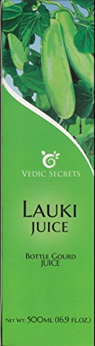 Vedic Secrets Juice - 16.9oz. (Bottle Gourd or Lauki Juice)