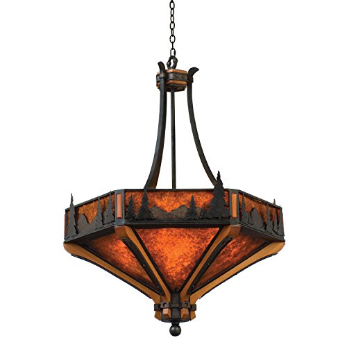 Aspen 6 Light Pendant - Kalco 5817NI Aspen 6 Light Pendant, 28