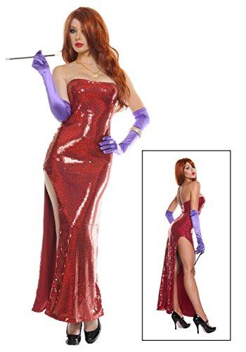 Plus Size Exclusive Deluxe Sequin Hollywood Singer Costume 3X/4X