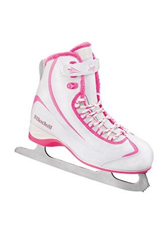 Riedell 615 2015 Model Figure Skates Soar (White/Pink,