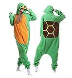 Adult Turtle Onesies Animal Pajamas Cosplay Sleepwear Chrismas Costume for Women Men