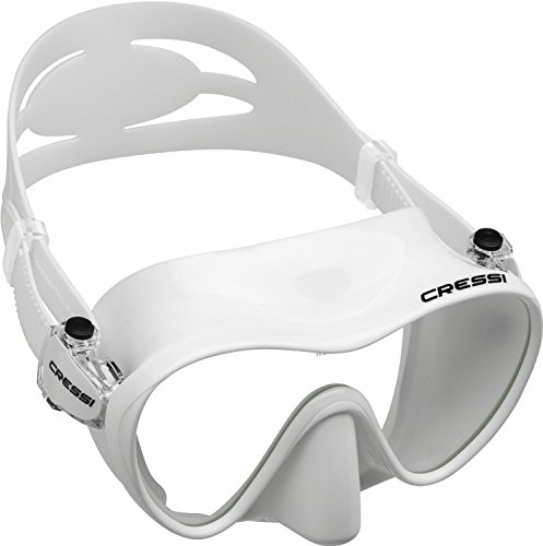 Cressi F1 Frameless Mask, White